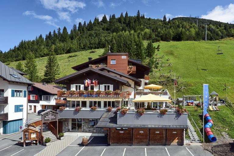 Malbun Hotel Turna Sommer